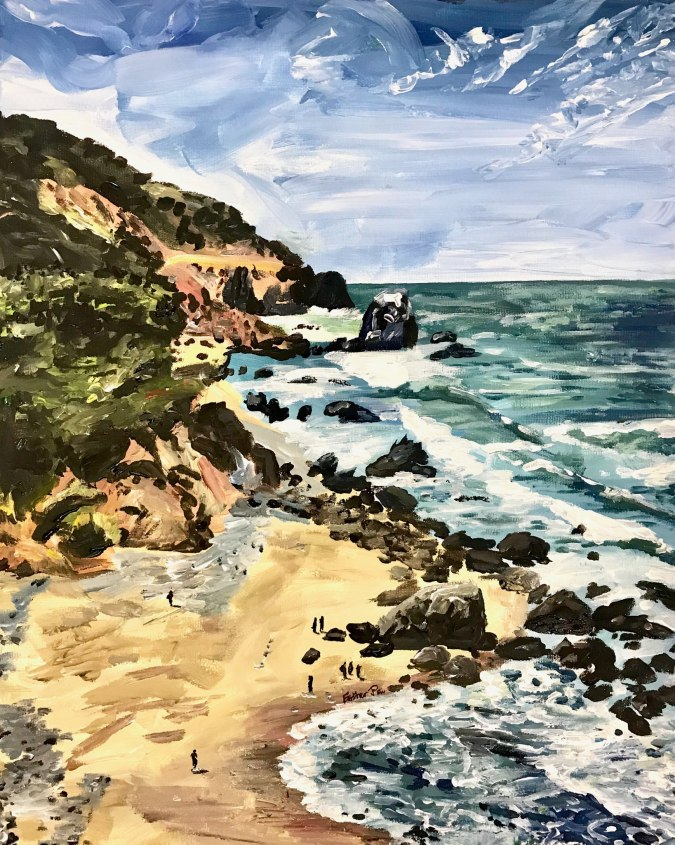 """""""Lands End"""" by Esther Pai"""