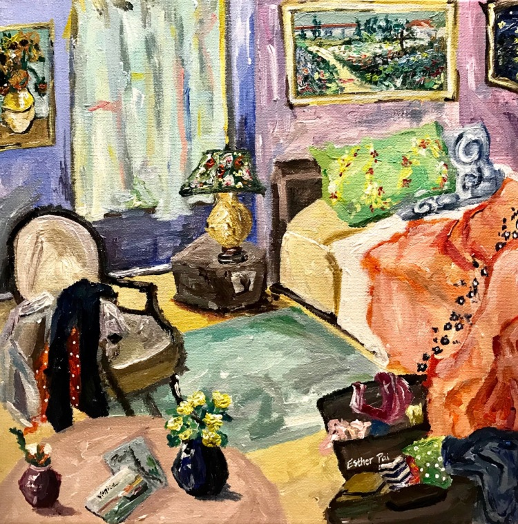 """Artist's Bedroom"" by Esther Pai"